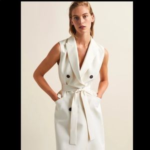 Double breasted waistcoat dress. NWT